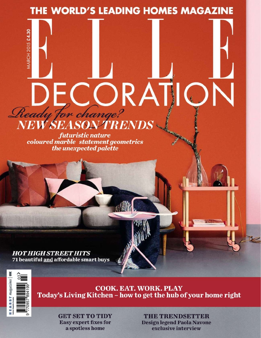 Featured In Elle Decor Magazine Lisa Jarvis